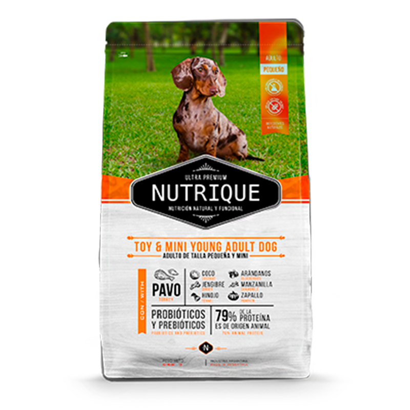 Nutrique Dog – Toy & Mini Young Adult